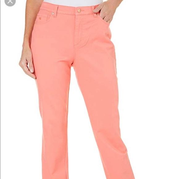 Gloria Vanderbilt Denim - Nwt Coral slimming jeans
